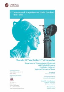 Umberto I - International Symposium on Penile Prosthesis - Rome 2016