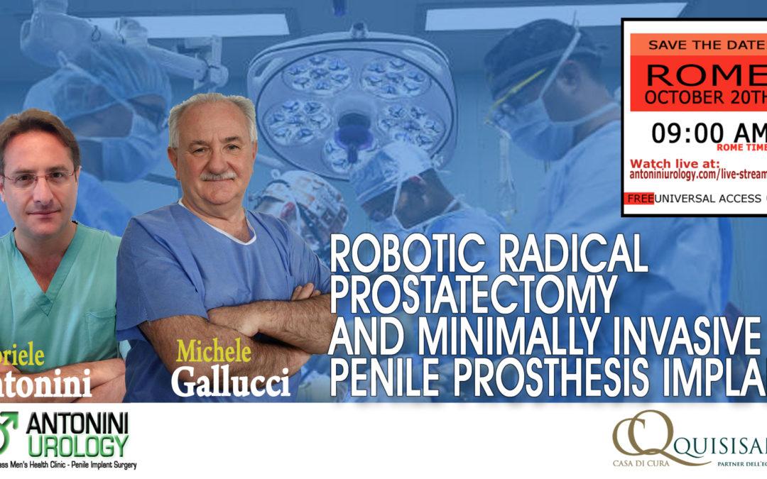 Tumore della Prostata dalla malattia alla riabilitazione Sessuale