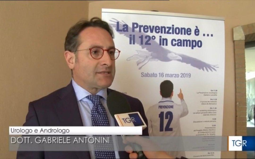 Prevenzione 12esimo in campo intervista al TG3