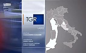logo televisivo del Tg3 Lazio