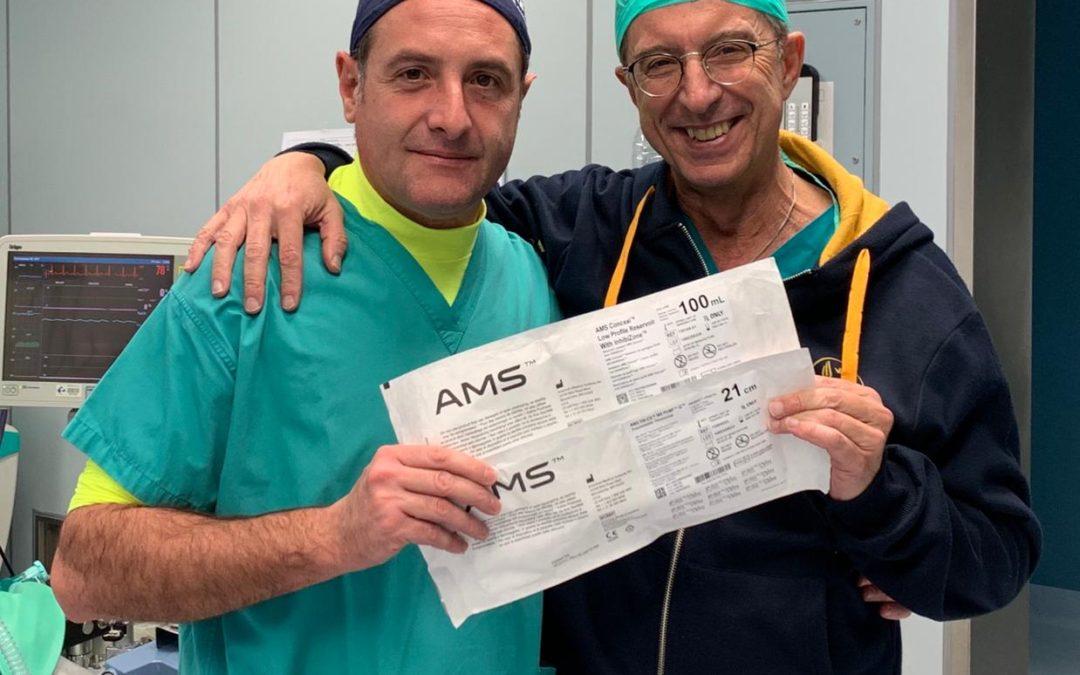 Antonini ospite del Prof. Lagana' di Tivoli per tre impianti protesici complessi