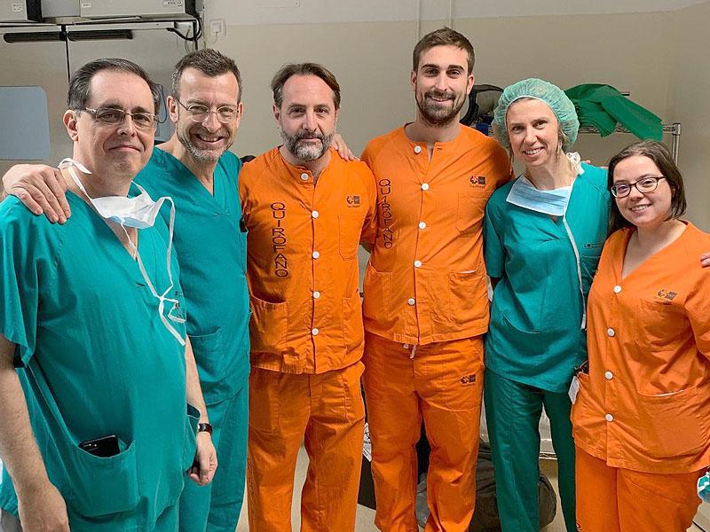 Antonini ospite a Madrid nell'Hospital Universitario Gregorio Marañón