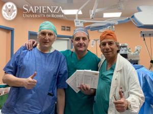 Nella foto, il Prof. A. Berardi, Prof. G. Antonini e Prof. E. De Berardinis